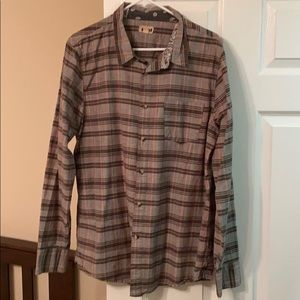 Nordstrom The Rail Check-Patterned Shirt